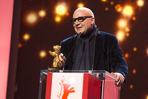 Gianfranco Rosi by Richard Hübner © Berlinale 2016