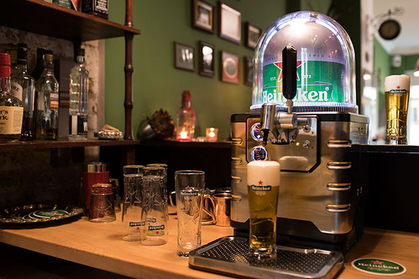 Heineken Blade in Berlin | The Razors Barber Shop
