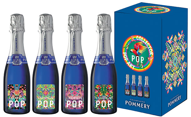 Sommerliche POP Art Collection von POMMERY | Champagne meets Art