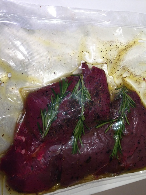 Winzerk che gegrillte hirschsteaks gourmetwelten das for Idee und garten oliver krull