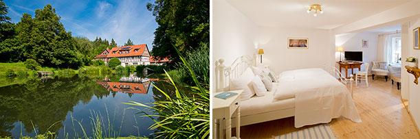 romantik hotels restaurants sechs neue mitglieder in deutschland gourmetwelten das. Black Bedroom Furniture Sets. Home Design Ideas