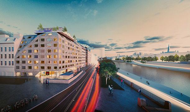 Lifestyle Marke Radisson RED in Wien   Eröffnung im Jahr 2021 © INNOCAD ARCHITECTURE