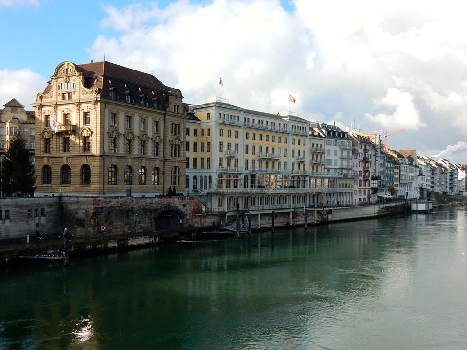 Grand Hotel Les Trois Rois | Besuch in Basel
