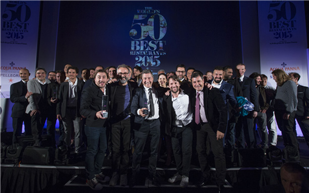 © The World's 50 Best Restaurants 2015, sponsored by S.Pellegrino & Acqua Panna, Foto: onEdition Photography, the official the photographers for 2015.