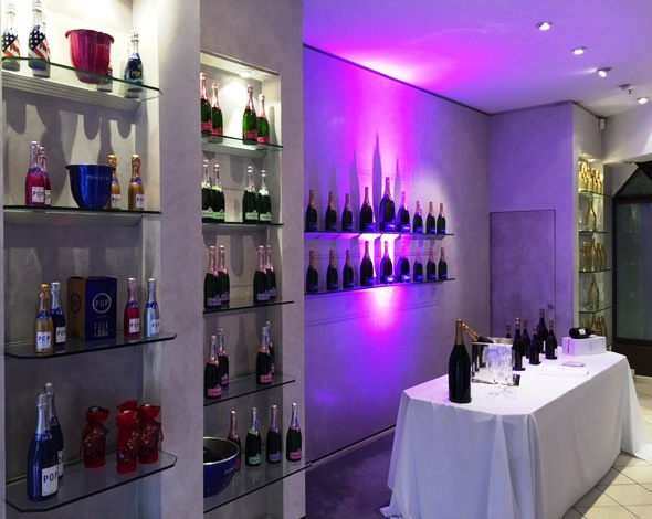 POMMERY Pop-up Store | Showroom im Hilton Berlin