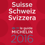 Michelin Guide Schweiz 2016