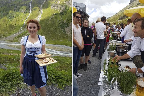 Eckart Witzigmann und Martin Sieberer | Kulinarischer Jacobsweg 2017