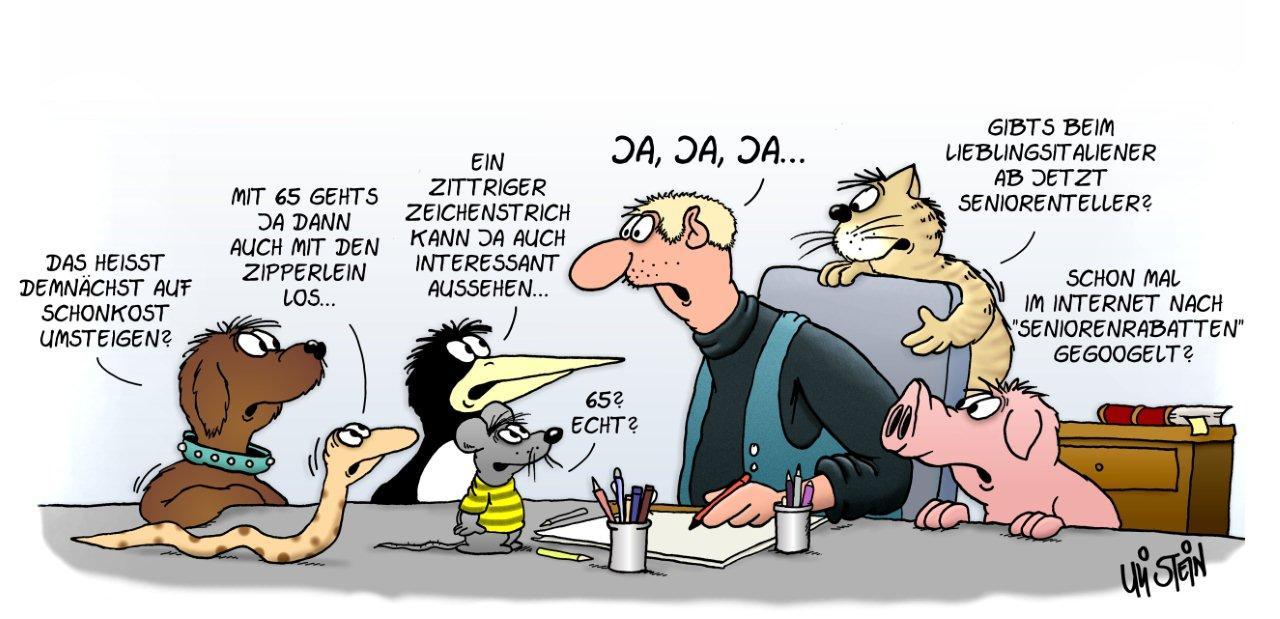Uli Stein Cartoon   Mach Mal Urlaub | Cartoon Uli Stein | Pinterest | Humor