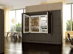 living kitchenaid mit weinschrank und turbobackofen gourmetwelten das genussportal. Black Bedroom Furniture Sets. Home Design Ideas