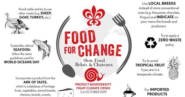 Relais & Châteaux und Slow Food starten Food for Change