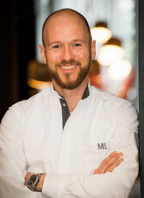 Matthias Stuber, Executive Chef, Sharq Village & Spa, A Ritz-Carlton Hotel; Foto Hilke Opelt