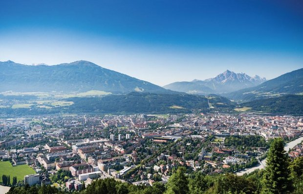 Innsbruck in Tirol Copyright: Innsbruck Tourismus / Tom Bause
