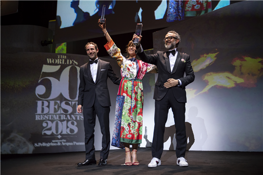 Massimo Bottura - Osteria Francescana Foto: World's 50 Best Restaurants 2018