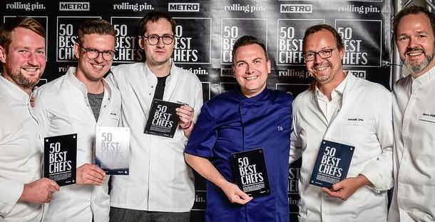 Rolling Pin CHEFDAYS Germany | 50 BEST CHEFS 2017 Fotos Rolling Pin