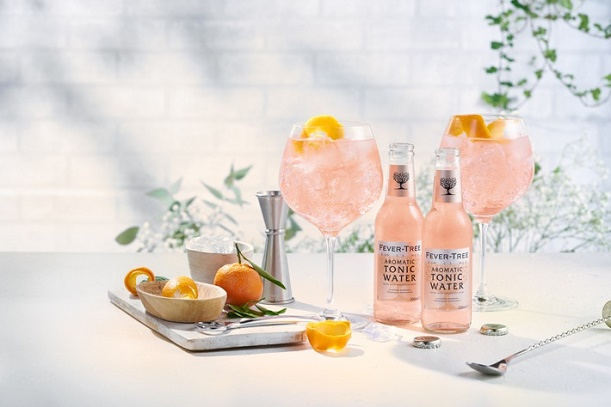 Pink Gin & Tonic | Fever-Tree mit Angostura