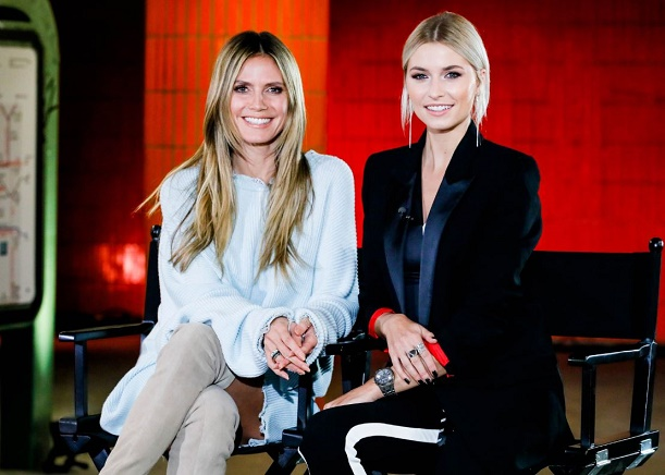 Germany's Next Topmodel | Heidi Klum und Lena gercke touren durch Berlin