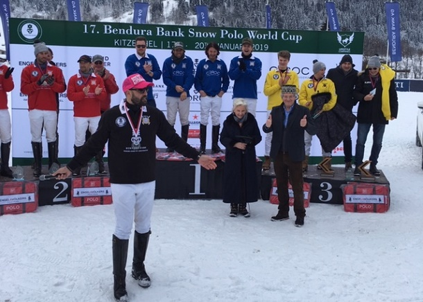 Cîroc Vodka siegt in Kitzbühel | Snow Polo World Cup 2019