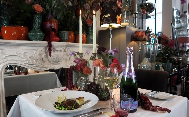 POP UP GARDEN RESTAURANT | Duke Pommery in den Floralen Welten
