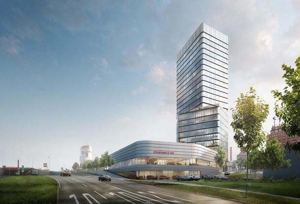 Porsche Design Tower | Neues Hotel für Stuttgart