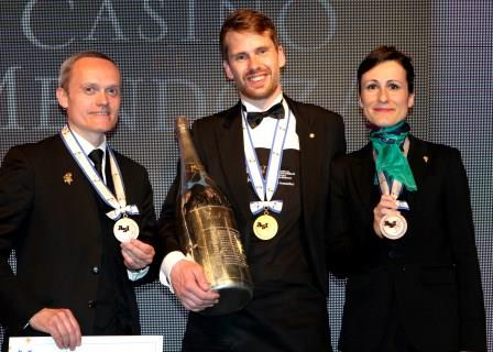 Best Sommelier of the World 2016 | Sieger ist Jon Arvid Rosengren Foto: Moët & Chandon