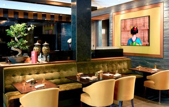 IZAKAYA Das neue Restaurant im Restaurant mit Asiatischem Bar Food im Sra Bua by Tim Raue im Hotel Adlon Kempinski in Berlin.