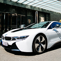 Hotel Regent Berlin | Das BMW i8 Package